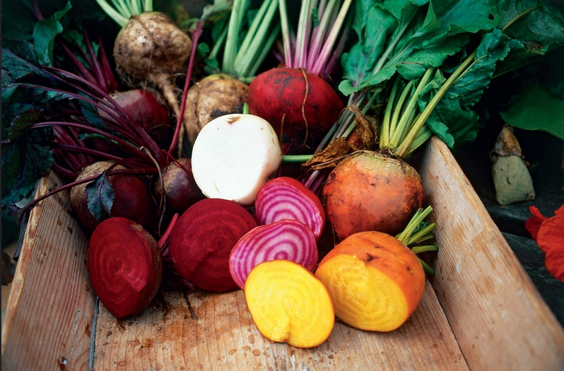 Beets and other root vegetables