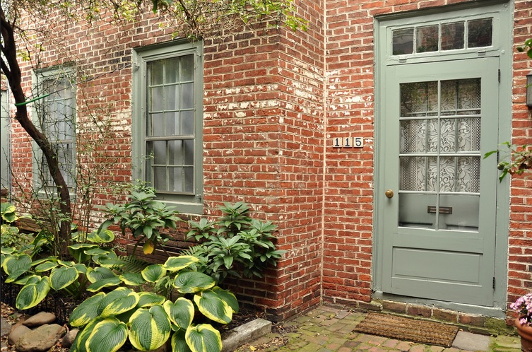 Elfreth's Alley, a historic alley in Philadelphia, dates back to the early years of settlement in the area.