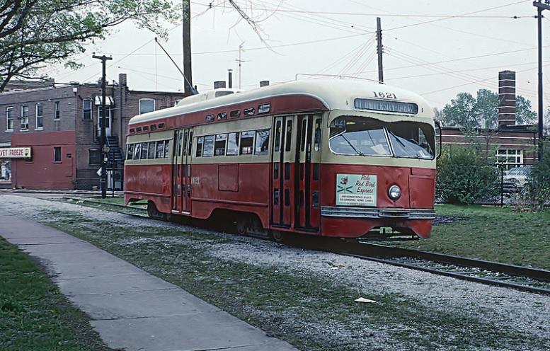 Train in St. Louis