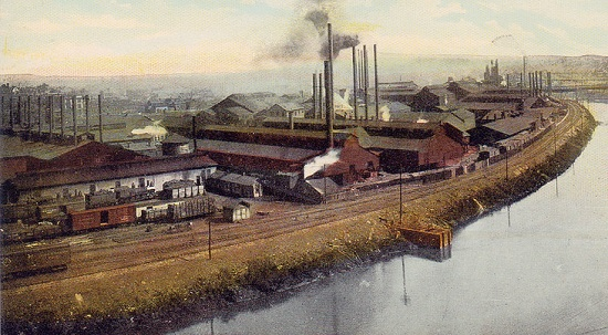 Republic Iron and Steel Works, Youngstown, Ohio, early 20th century