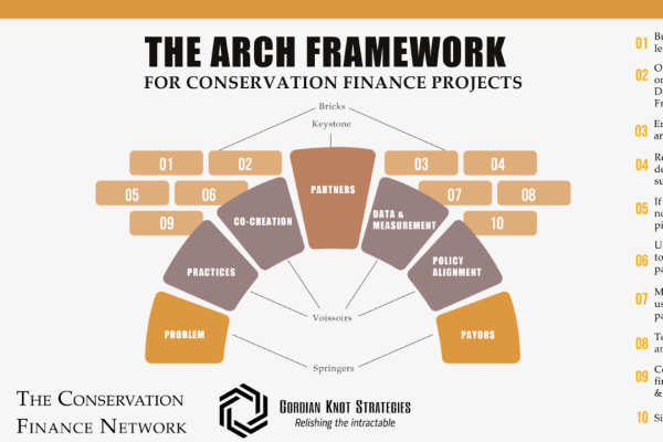 How the arch framework opens to ideas